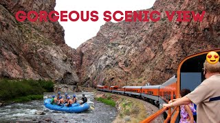 Royal gorge train ride/Scenic view so Gorgeous/ Filam Vlog