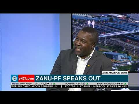 WATCH: Zanu-PF won't tolerate protests masquerading as coups