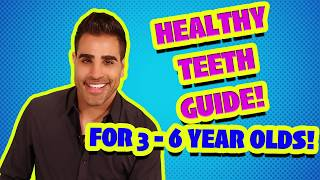 Dr Ranj Healthy Teeth Guide Aged 3-6 Tooth Brushing Should Be Supervised (BSPD Short Video)