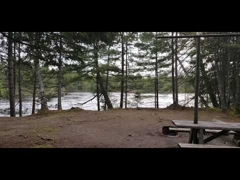 Video Of Abol Pines State Campsite, ME