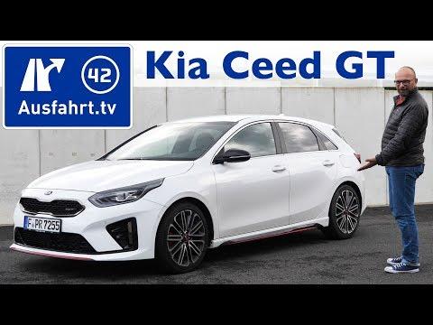 2019 Kia Ceed GT - Kaufberatung, Test deutsch, Review, Fahrbericht Ausfahrt.tv