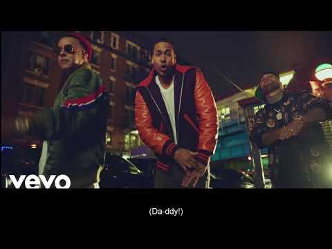 Romeo Santos , Daddy Yankee, Nicky Jam - Bella y sensual (lyrics + English translation)2017