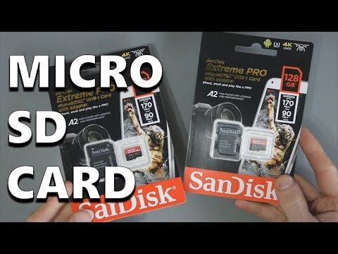 SanDisk Extreme PRO Micro SDXC Memory Card - Performance Test