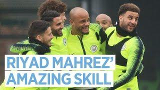Riyad Mahrez' Amazing Skill | Training | Man City