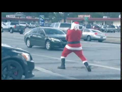 Gangman Style Santa Claus