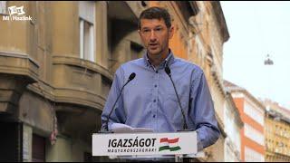 Szakács Árpád beszéde – Budapest 2020.10.03.