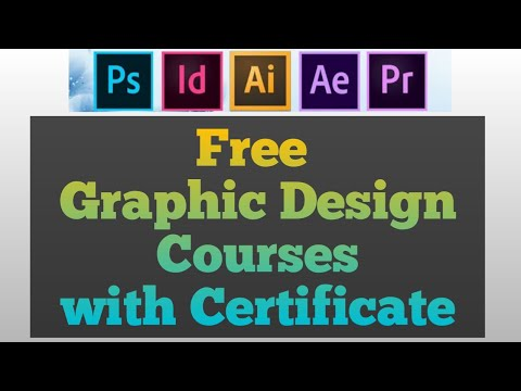 Free graphic design courses with certificate - YouTube