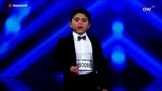 Jorge, el poeta, se robó los corazones del jurado y el público - TALENTO CHILENO