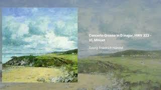 Concerto Grosso in D major, HWV 323