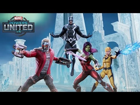 MARVEL Powers United VR | Star-Lord + Gamora Team Gameplay | Oculus Rift thumbnail