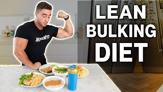 My Bulking Diet to BUILD MUSCLE Without The Fat | Full Meal Prep with Zac Perna