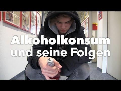Die Aufstellungen nach chellingeru der Alkoholismus
