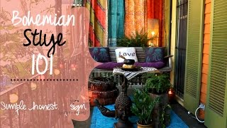Modern Bohemian Style | Simple.Honest.Design