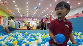 Tin Đi Chơi Nhà Banh Ở Khu Vui Chơi Trẻ Em Kids City ❤ Tin Siêu Còi