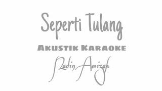 Seperti Tulang   Nadin Amizah | Akustik Karaoke