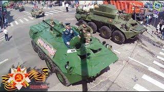 """""""Бессмертный полк"""" в Серпухове, фрагмент шествия в честь 73 -ей годовщины Победы... 09 мая 2018г."""