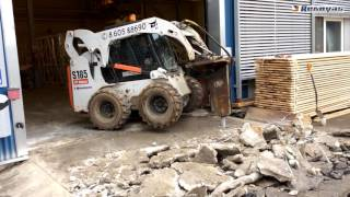 Betono demontavimas su hidrauliniu kūju
