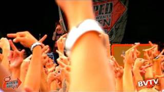 "Oliver Sykes, Bring Me The Horizon - ""Sleep With One Eye Open"" Live in HD! at Warped Tour 2010"