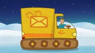 """""""Машинки"""", новый мультсериал для мальчиков - Почтовый фургон (серия 32) и сборник серий!"""