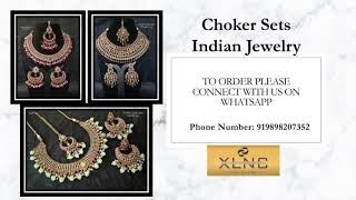 Choker Sets - Wholesale Prices - Indian Jewelry