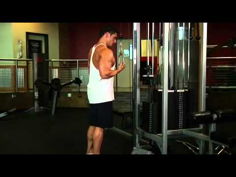 Cable One Arm Tricep Extension Exercise Guide and Video