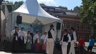 Folklorna skupina TKD Babinci na festivalu Europeade