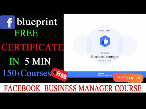 Facebook Blueprint Free Certification Courses - YouTube