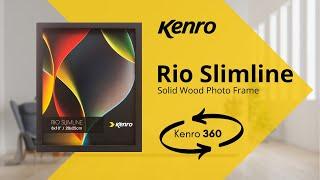 Rio Slimline Black Frame 360 video