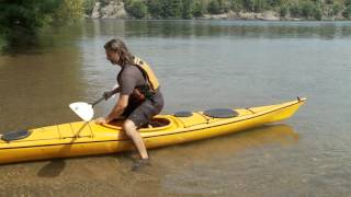 Entering- Exiting a  Kayak