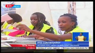 KTN Prime: IEBC disagrees with President Uhuru Kenyatta over civic education claims done by IFES