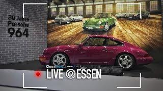 Porsche festeggia i 70 anni alla Techno Classica di Essen - Video