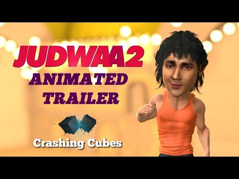 Download Judwaa 2 | Animated Trailer | Varun Dhawan | Taapsee | Jacqueline | Salman Khan | Crashing Cubes HD Mp4 3GP Video and MP3