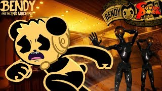 bendy and the ink machine gameplay chapter 4 - 免费在线视频