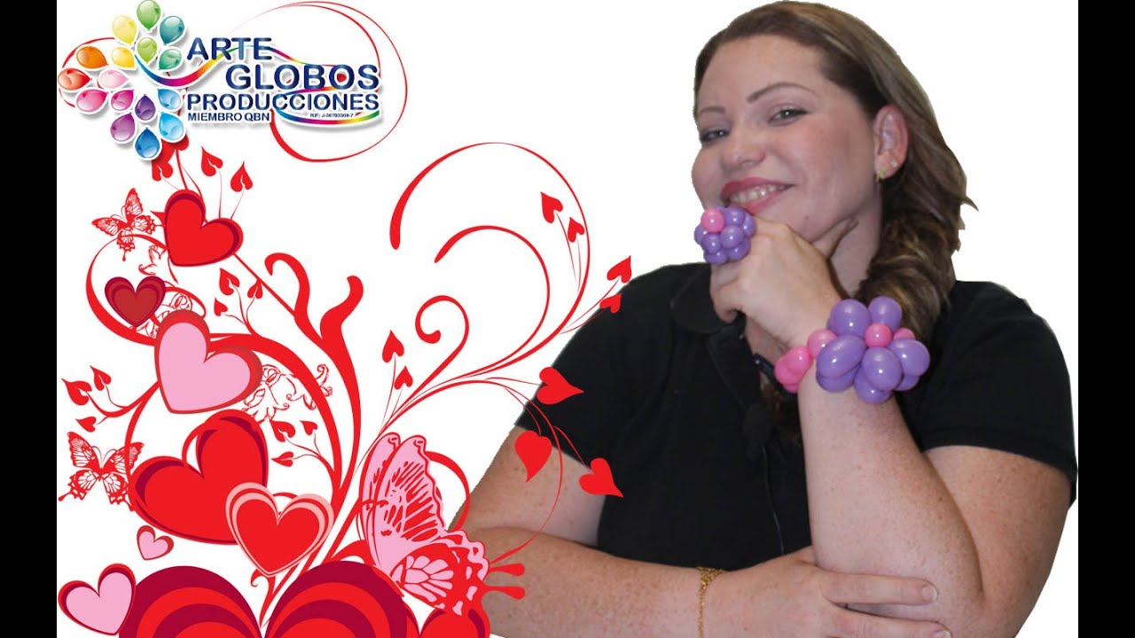 Curso de Globos para Animadores, pulsera en globos