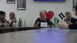 Вартарес Самургашев и Валерий Локтионов на конференции