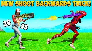 new shoot backwards glitch fortnite funny fails and wtf moments 737