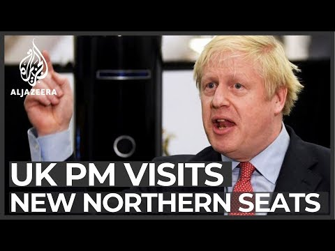 PM Boris Johnson visits northern constituencies of UK