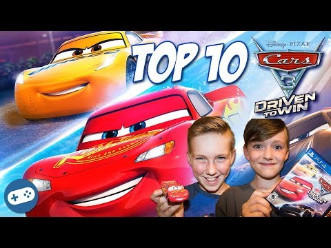 Our Top 10 Cars 3 Driven To Win Gameplay Videos