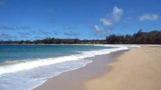 Kauai Beaches: Aliomanu Beach Hawaii