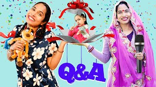 BIG Surprise! Question Answers With ShrutiArjunAnand | Pregnancy, Baby, Phone Number, Income - Download this Video in MP3, M4A, WEBM, MP4, 3GP