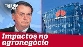 Governo federal considera rever veto à participação em Huawei