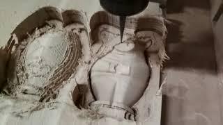 Производство декора из дерева на станке с ЧПУ - сувенир Свинка