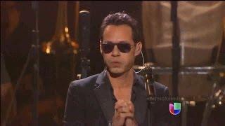 Marc Anthony Vivir Mi Vida Latin Grammy 2013