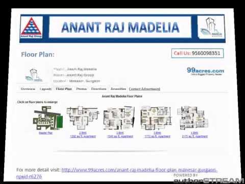 3D Tour of Anant Raj Madelia