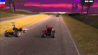 BalkanExpress Voznja Traktorima