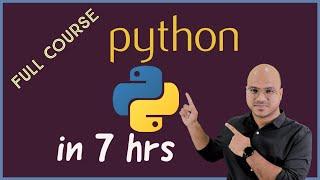 Python Tutorial for Beginner | Full Course