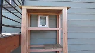 Easy DIY Catio (Outdoor Cat Enclosure)