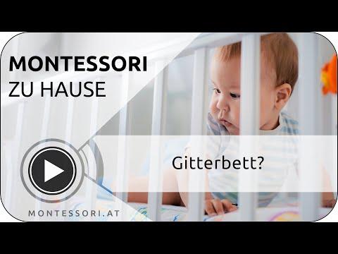 Montessori zu Hause - warum kein Gitterbett? | MONTESSORI.AT 💚