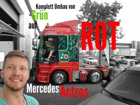 Mercedes Actros LKW Truck tuning Licht Knöpfe Umbau by Ledov