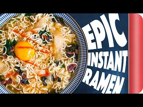 How To LEVEL UP Instant Ramen